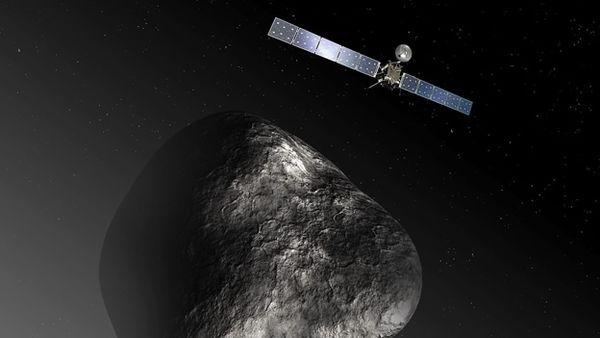 Spazio, Rosetta scopre i mattoni della vita sulla cometa