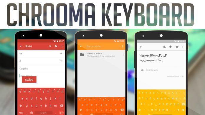 Chrooma Keyboard 3.0