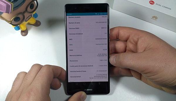 Huawei P9 plus Hardware