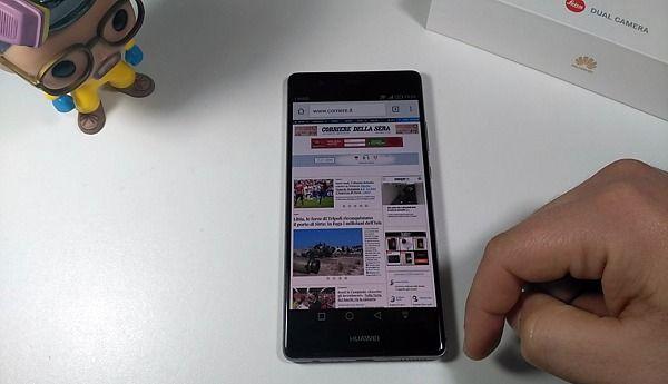 Huawei P9 plus chrome