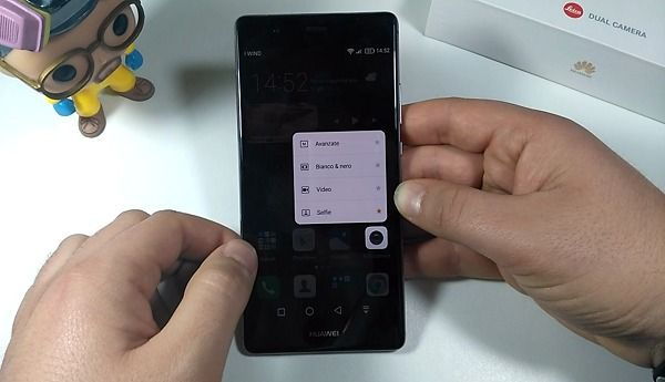 Huawei P9 plus force touch