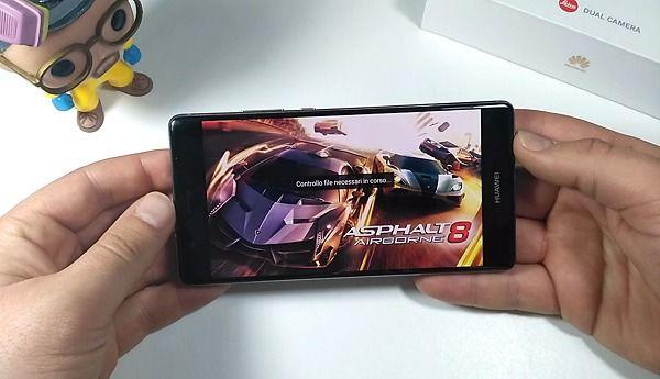 Huawei P9 plus giocabilità