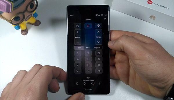 Huawei P9 plus infr.