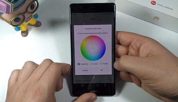 Huawei P9 plus ton. colore
