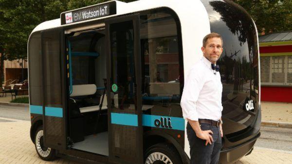 Olli Bus guida autonoma