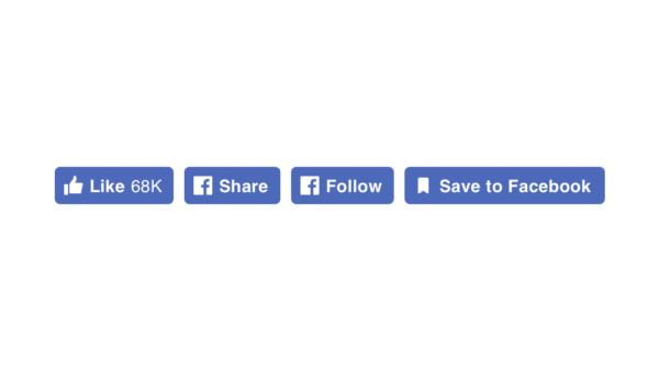 Facebook pulsanti