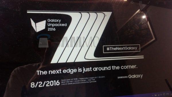 Il nuovo teaser dedicato al Galaxy Note 7