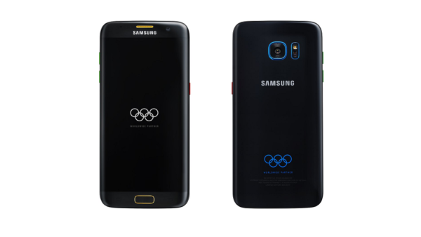 Il press render del Samsung Falaxy S7 Edge Olympic Edition