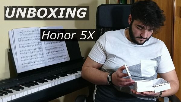 Unboxing Honor 5X