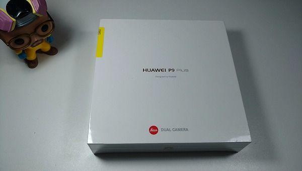 Unboxing Huawei P9 plus (2)
