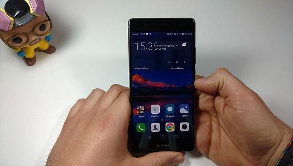 Unboxing Huawei P9 plus 3