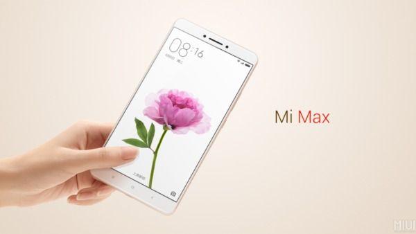 Xiaomi Mi Max nella variante da 4GB di RAM e 128GB di memoria interna