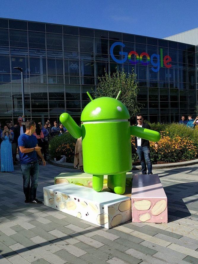 Android Nougat Mountain View