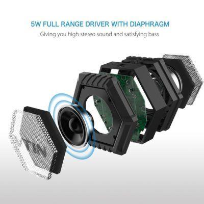 recensione VTIN Altoparlante Portatile Bluetooth (3)