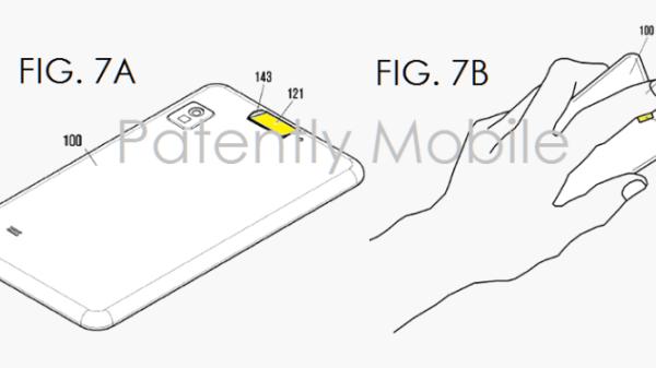 Sensore di impronte digitali rettangolare brevettato da Samsung