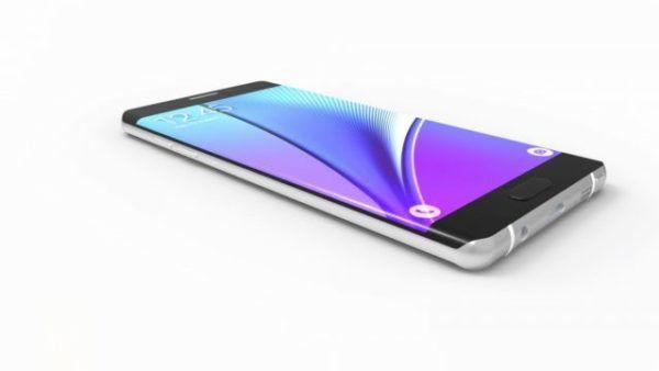 Il Samsung Galaxy Note 7 immaginato in un render