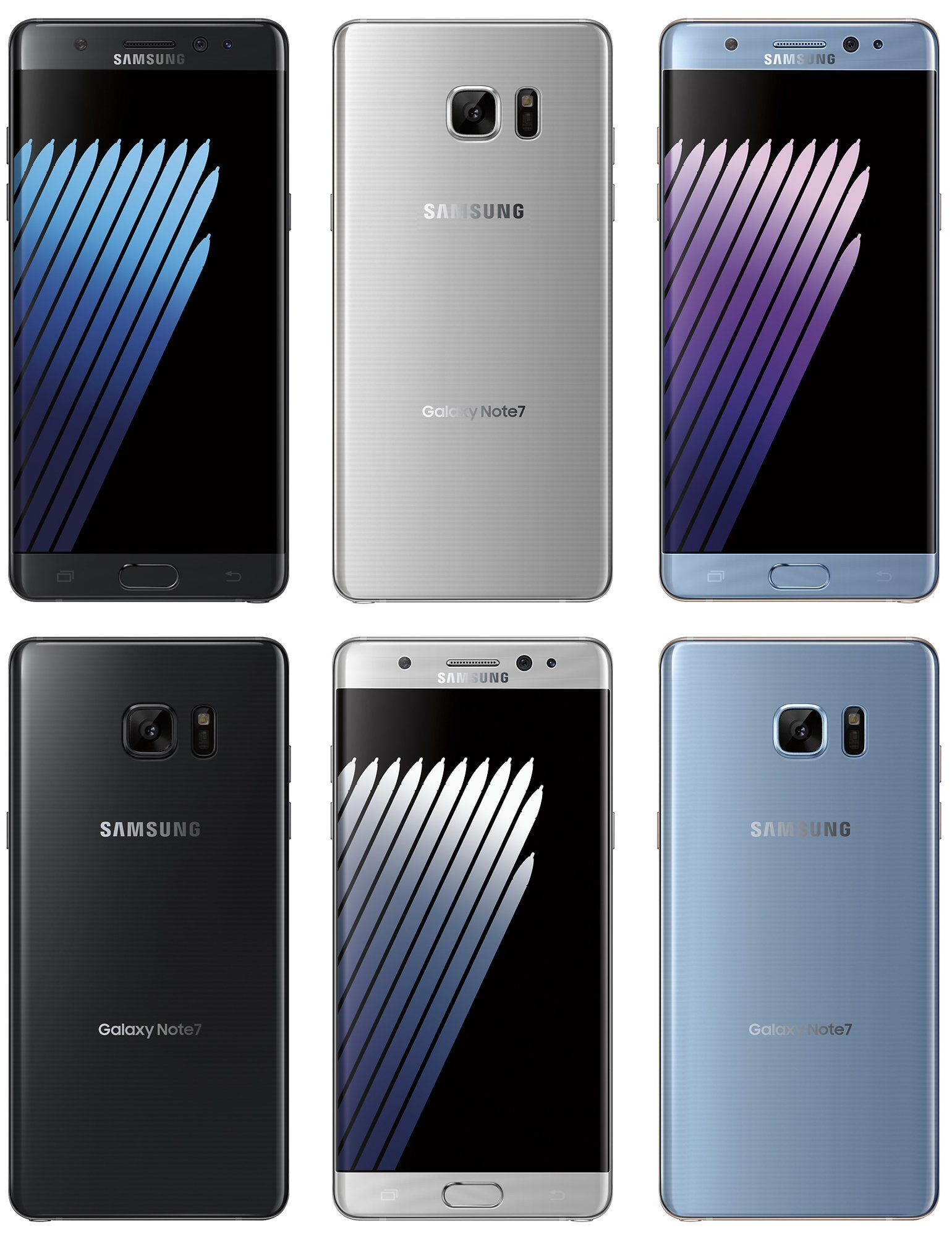 Galaxy Note 7 Render