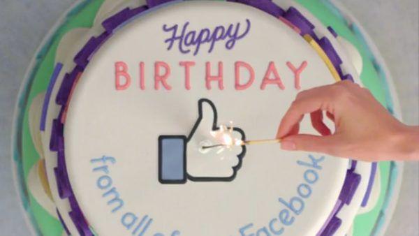 Facebook annuncia i video di compleanno