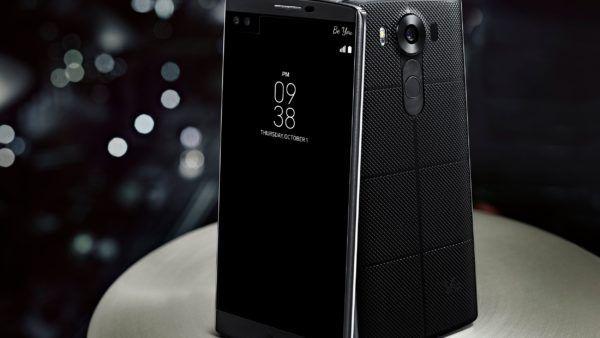 LG V10 nella colorazione Black