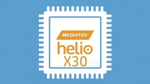 Il logo della CPU MediaTek Helio X30