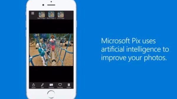 Microsoft Pix, arriva la app iPhone per foto migliori che mai