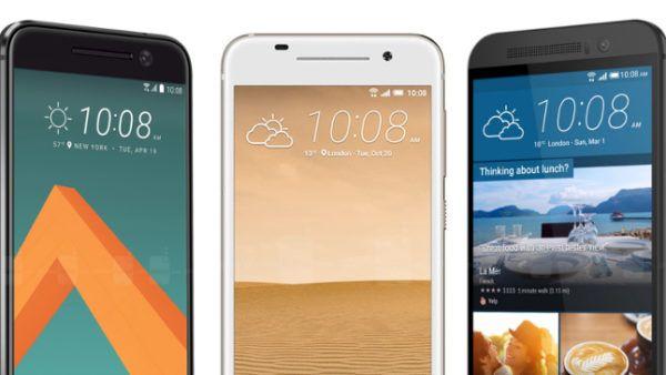 HTC 10, HTC A9 e HTC One M9