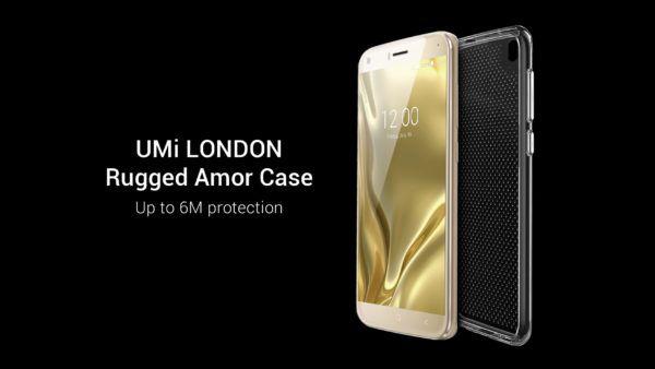 La custodia rugged per UMI London