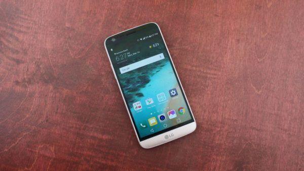 LG G5 nella colorazione Silver