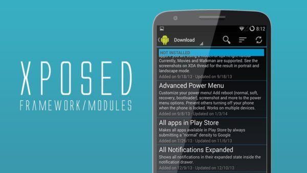 Xposed è la bacchetta magica nel mondo android: grazie ad esso possiamo accedere a tantissimi moduli per controllare il nostro telefono