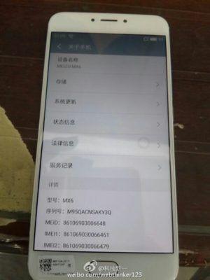 La prima foto dal vivo di Meizu MX6