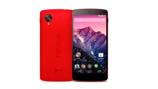 Nexus 5 nella colorazione Red