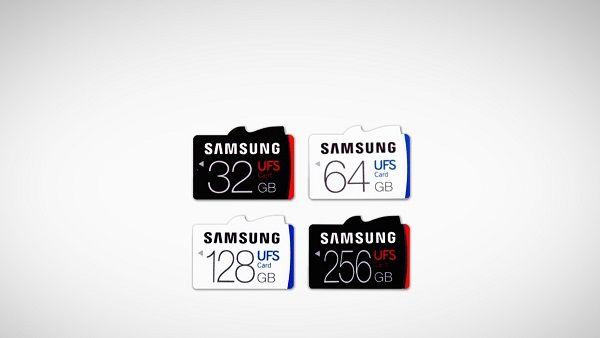 Samsung svela la prima memory card UFS al mondo