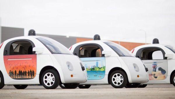 auto guida autonoma di Google