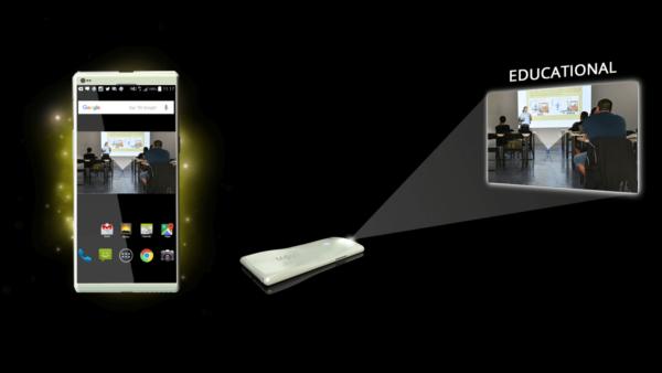 MOVI smartphone projector
