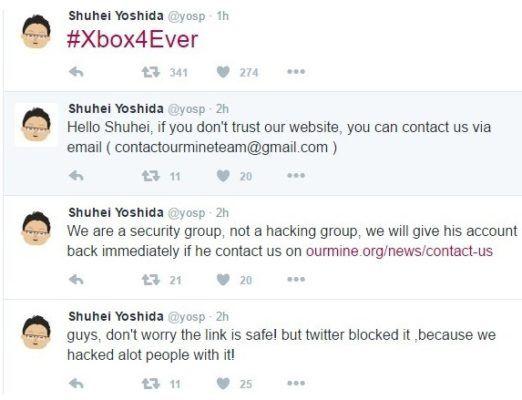 yoshida-sony-hacker-ourmine-twitter