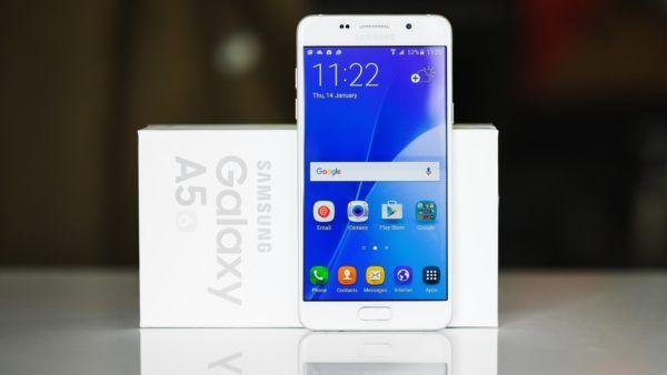 L'attuale versione 2016 del Samsung Galaxy A5