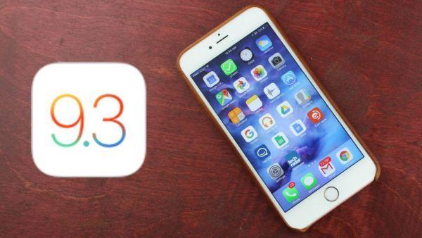 Apple aggiorna iOS alla versione 9.3.5