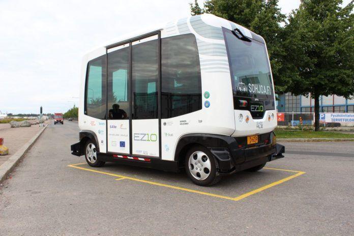 Helsinki bus a guida autonoma