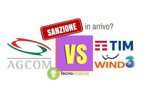 Tariffe roaming, dopo Tim e Wind rischio sanzioni anche per