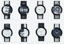 FES Watch U, lo smart watch con due display E-Ink flessibili