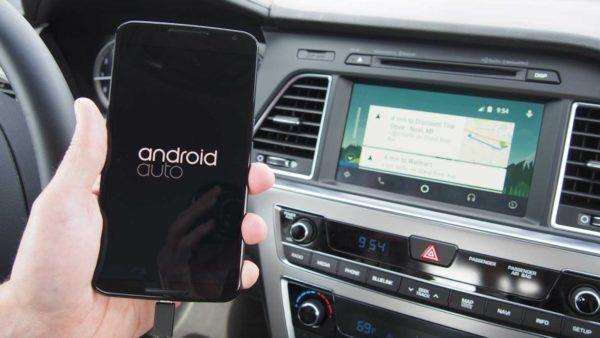 Android Auto installato su un'automobile Hyundai