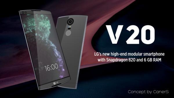 Lg V20: Phablet da 5.7 pollici con Android 7
