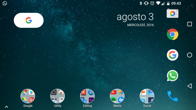 Google Nexus Launcher