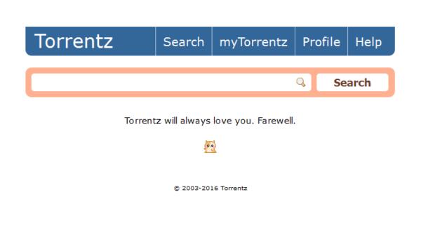 Torrentz, addio a un altro popolare motore di ricerca pirata