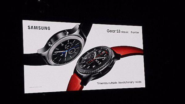 Samsung rilancia sugli smartwatch Gear S3