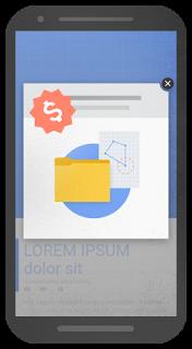 pubblicità invasiva Google