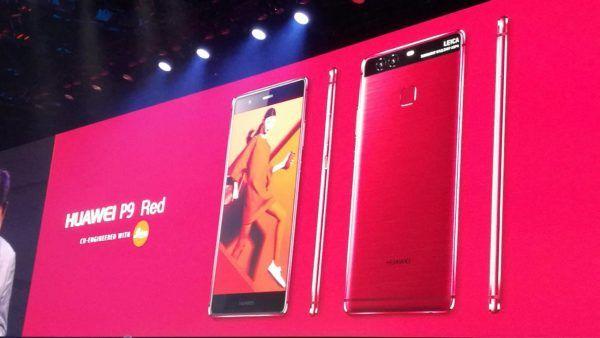 La nuova variante cromatica Red per il Huawei P9