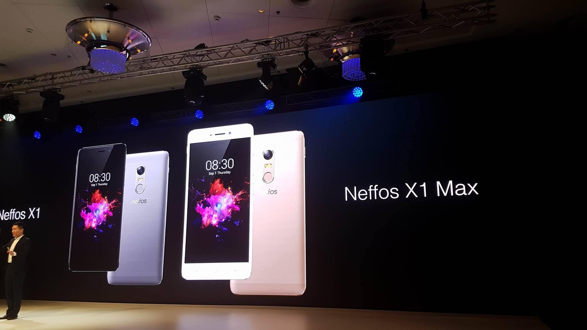 TP-Link presenta gli smartphone Neffos X1 e Neffos X1 Max