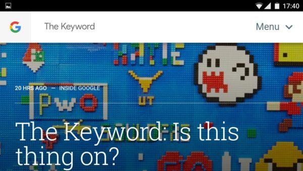They Keyword