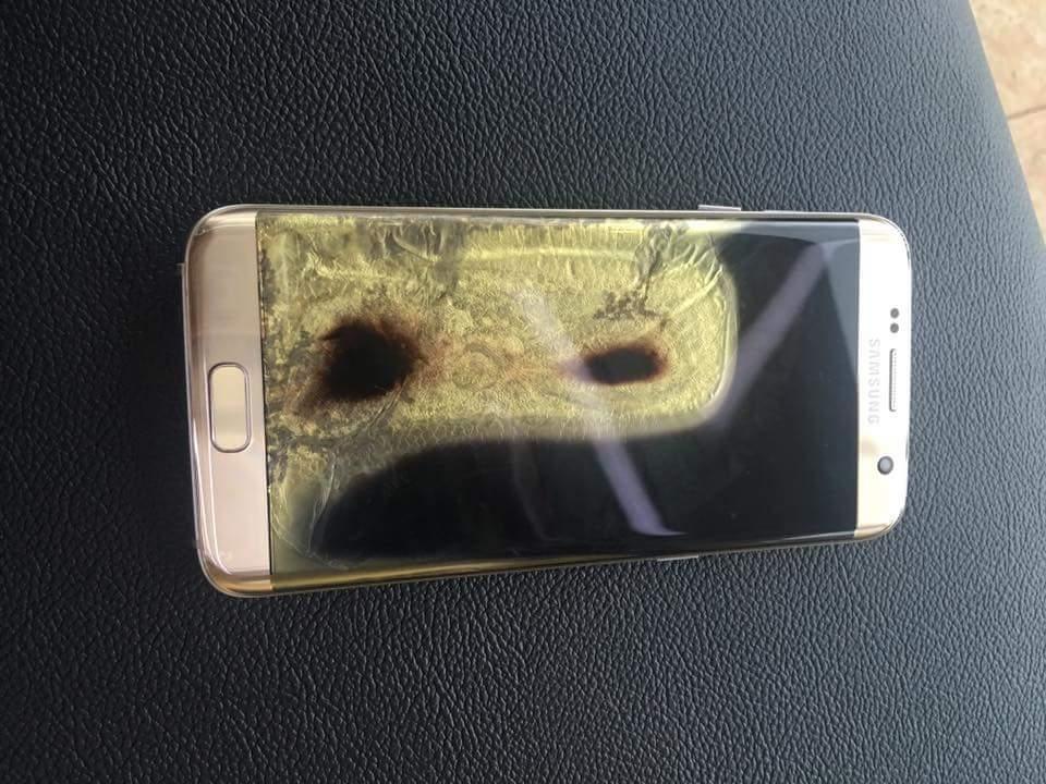Nuovi problemi per Samsung: Galaxy S7 Edge in fiamme nelle Filippine